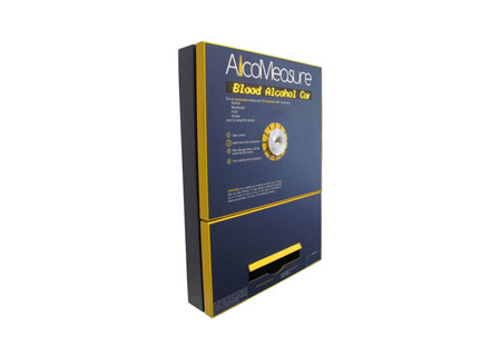AlcoMeasure Wall Mount Breathalyzer